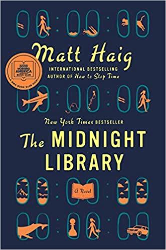 The Midnight Library by Matt Haig book cover