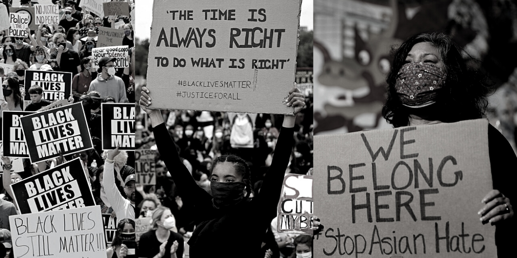 Protest collage
